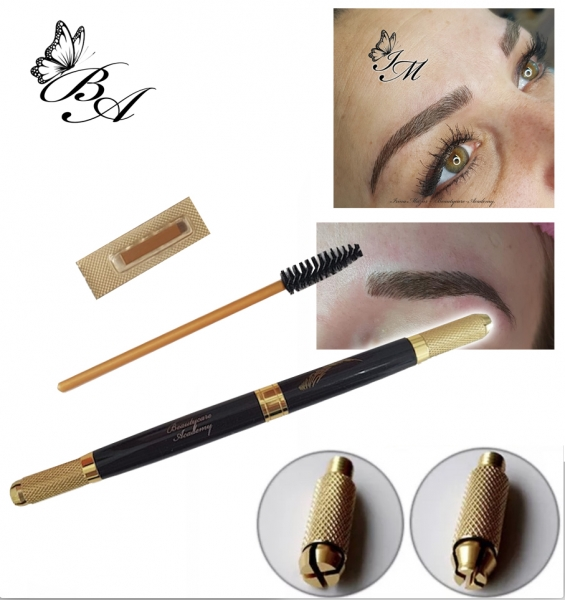 Microblading Pen Beautycare Gold